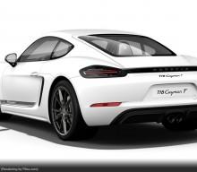 VIN Codes Reveal Porsche 718 Cayman T Plans