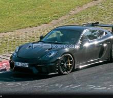 Spied: Porsche 718 Cayman GT4 RS Test Mule