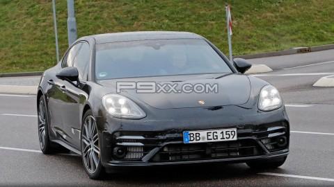 Freshened Panamera Spied Near Porsche Factory
